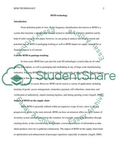 Package Marking RFID 351 wk 8 forum