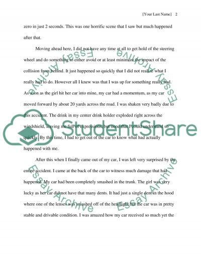 how a car accident has changed my life essay example topics and how a car accident has changed my life essay example