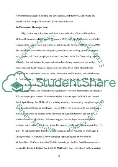 Hrm essay