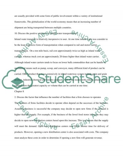 Chapter 8 essay example