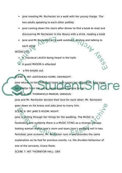 Persuasive Essay Sample High School Script For Jane Eyre Business Plan Essay also Essay On Global Warming In English Script For Jane Eyre Essay Example  Topics And Well Written Essays  An Essay On Newspaper