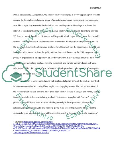 Content Area Teaching Assignment