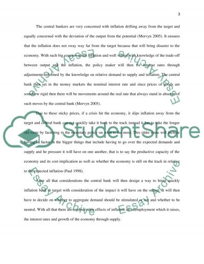 Explain how inflation targeting operates in the UK and Critically evaluate the benefits of inflation targeting essay example