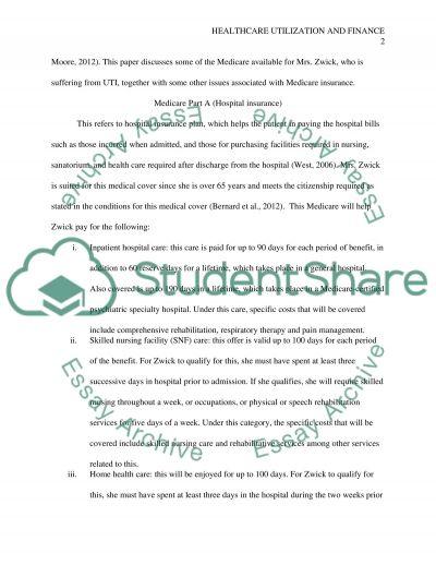 health care utilization paper essay example