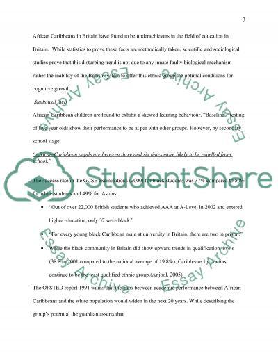 African Caribbean Community essay example