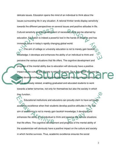 University education guaranties a successful professional career