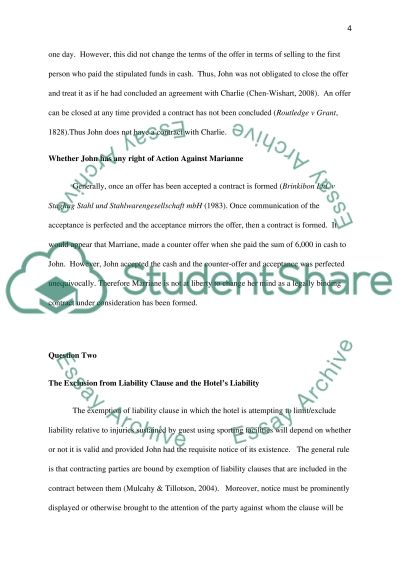 answering essay questions law Selected state bar examination subjects  table of contents  the essay questions see the george mason school of law  hours spent answering essay questions.