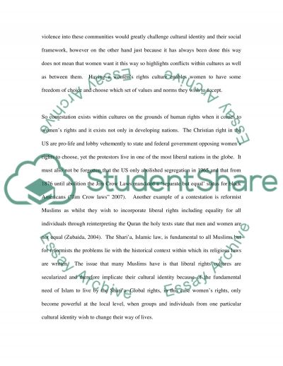 Changes in the international system and the right to choose essay example