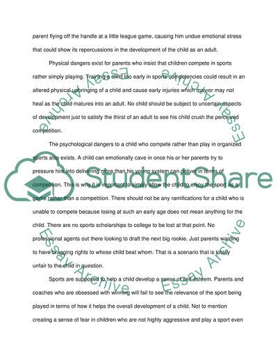 Summary On The Essay Children Need To Play Example  Topics And Well  Summary On The Essay Children Need To Play Buying Book Reports also Model English Essays  Short Essays For High School Students