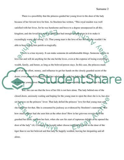 Literary Essay--L or T