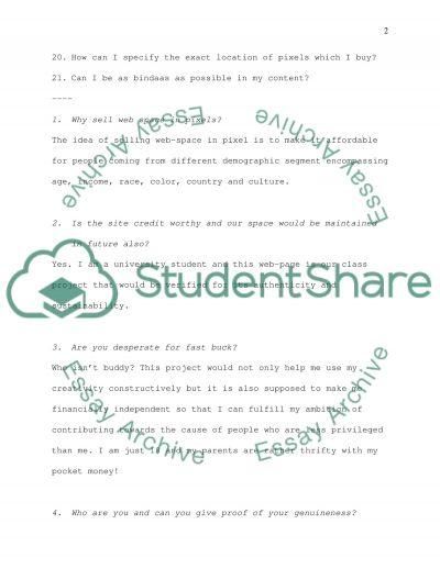COMEDY - INFORMATIVE essay example