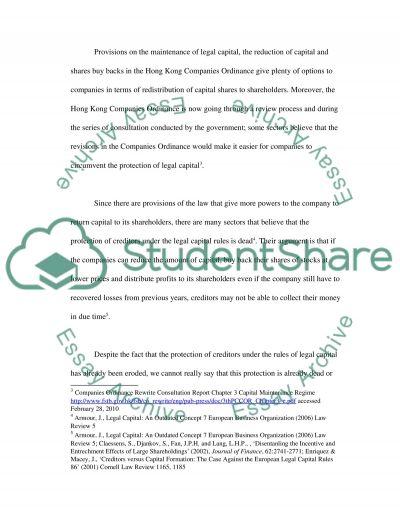 Company Law essay example
