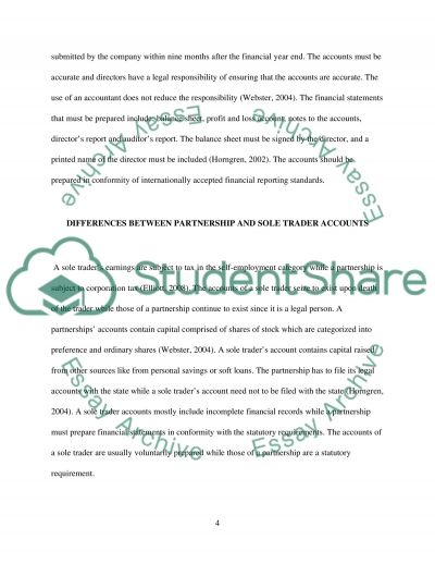Financial Accounting and Reporting essay example