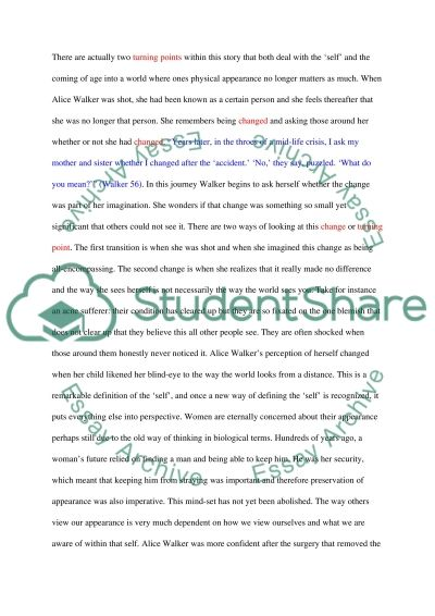 Martin Luther King and Alice Walker essay example