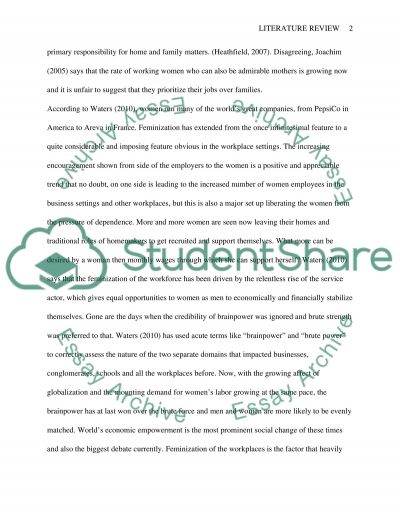 Research literature review essay example
