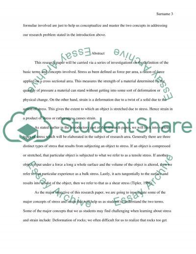Stress essay topics