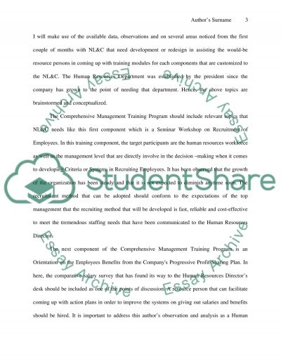 Managing Human Resources Bachelor Essay