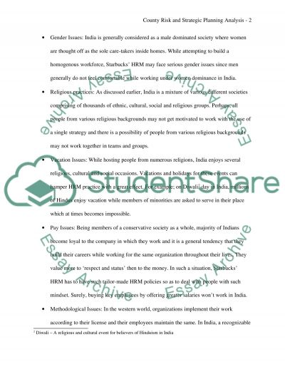 Global consideration Paper essay example
