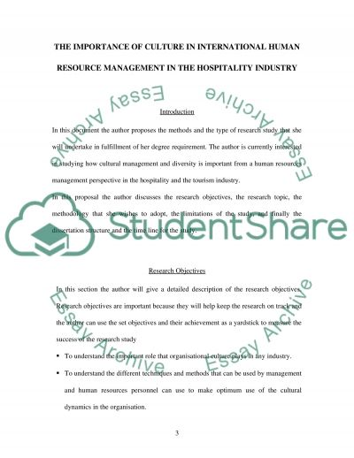 International Human Resource Management - cultural management and diversity essay example