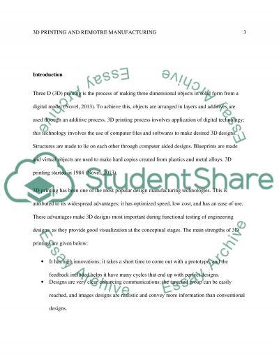Technology essay example