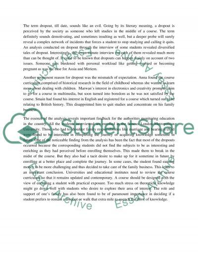Data analysis2 essay example