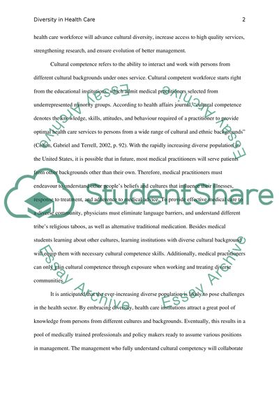 Science Essay Ideas  Poverty Essay Thesis also How To Write Science Essay Diversity In Health Care Essay Example  Topics And Well  English Composition Essay Examples