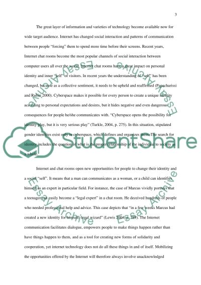 Effect of Internet hon Social Skills and Communication essay example