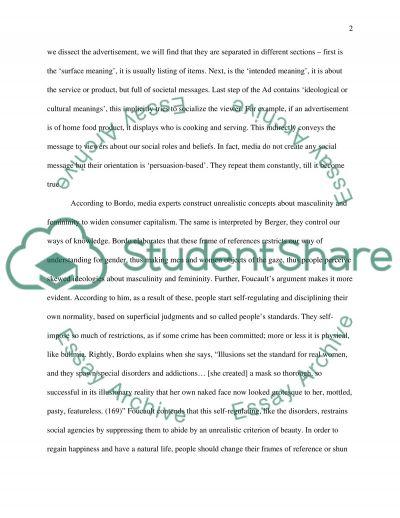 Gender Studies essay example