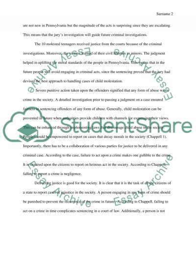 Penn State Child Abuse Scandal