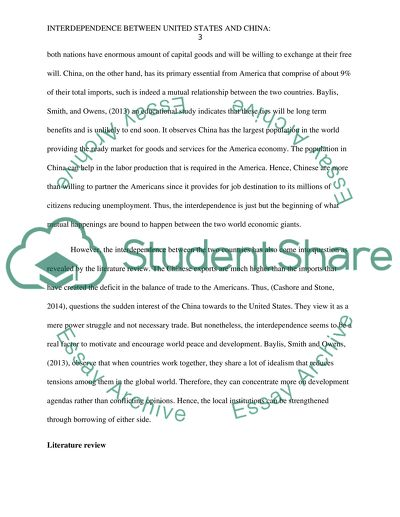 Globalization topic research paper