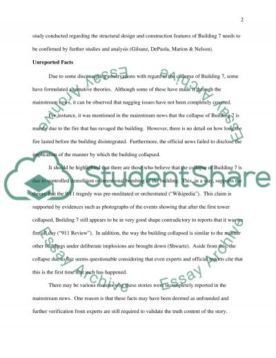 The Unreported Facts about Building Seven essay example