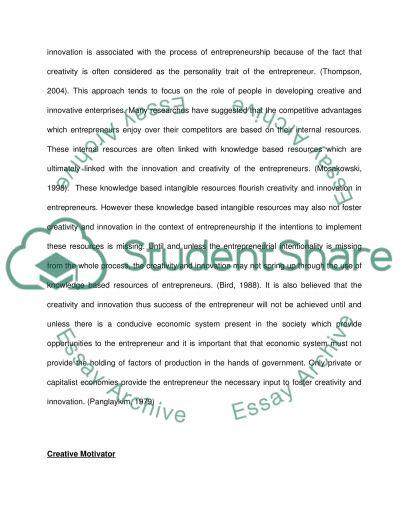 Model Descriptive Essay Entrepreneurship Bachelor Essay Essay On Integrity also Essays On Writing By Writers Entrepreneurship Bachelor Essay Example  Topics And Well Written  Harvard Business School Essay