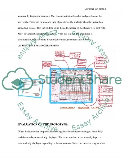 Computing: user requirement specification essay example