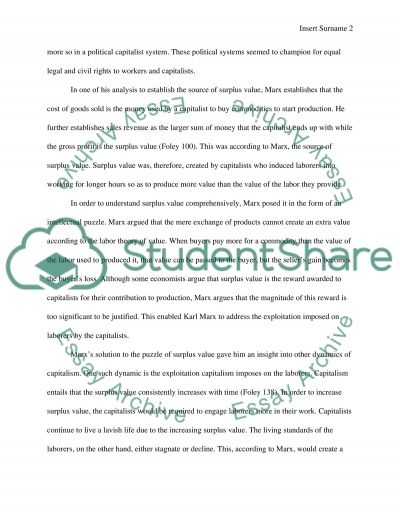 Youth Essay Surplus Value On Karl Marx Essay About Your Life Story also Course Reflection Essay Surplus Value On Karl Marx Essay Example  Topics And Well Written  Essay About Korea