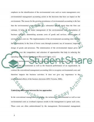 Finance and Accounting essay example
