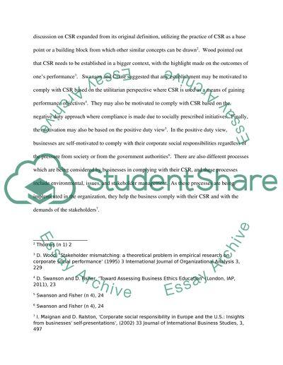 Corporate social responsibility dissertation topi