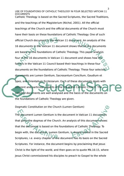 High School And College Essay Foundation Of Theology Process Essay Example Paper also An Essay On English Language Foundation Of Theology Essay Example  Topics And Well Written  Importance Of English Essay