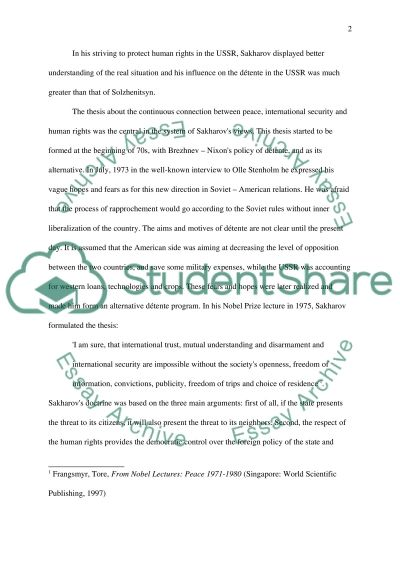 The Struggle for Universal Human Rights Essay essay example