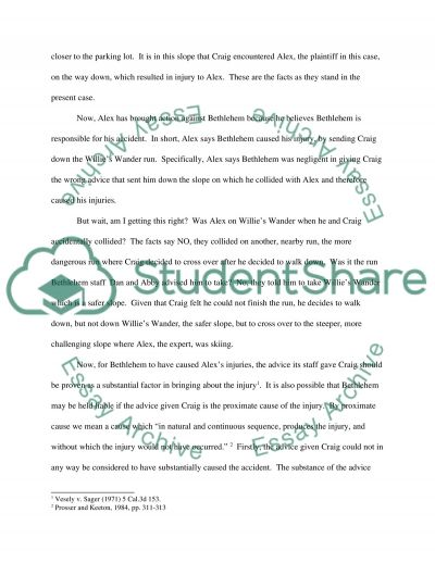 Draft for Case Study essay example