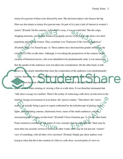 Compare the concepts between two different essays