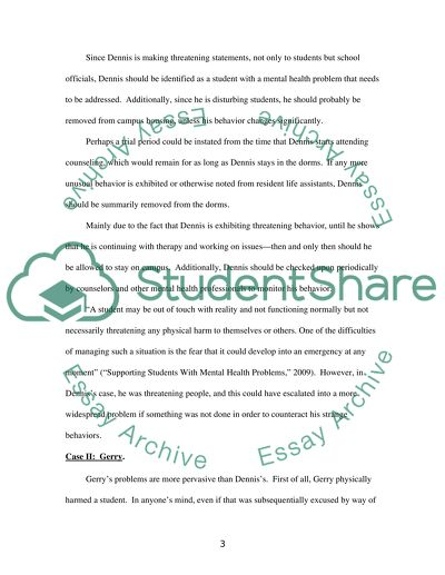 Supporting Students With Mental Health Issues Essay Supporting Students With Mental Health Issues