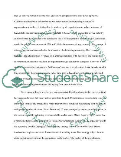 Marketing essay example