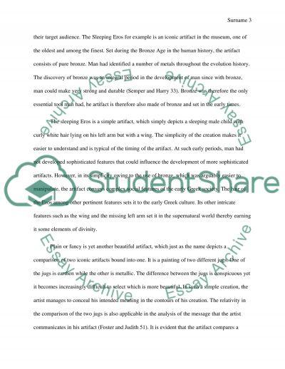 Research Paper ( Fine Art)