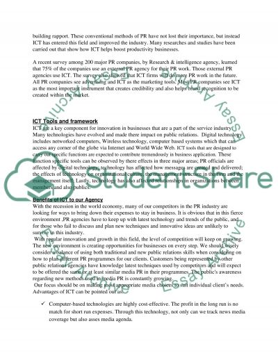 Writing Report essay example
