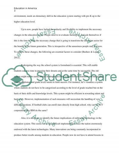 Synthesis of Educational Theory Domain essay example