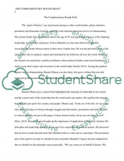 Nelson essays   studentshare
