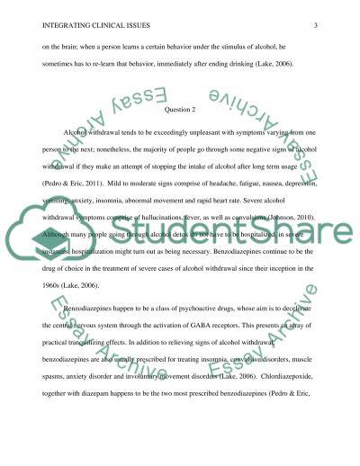 Case Study Q/A essay example