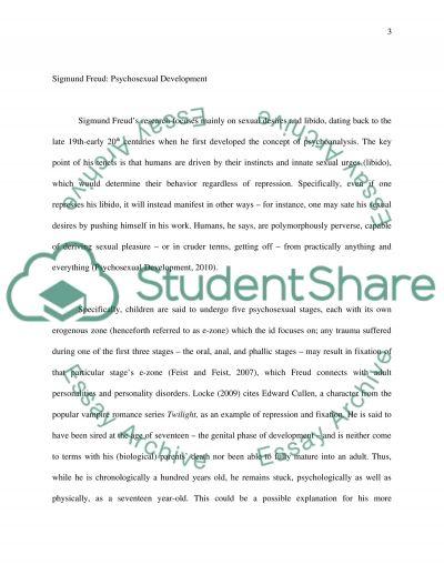 Developmental theories essay example