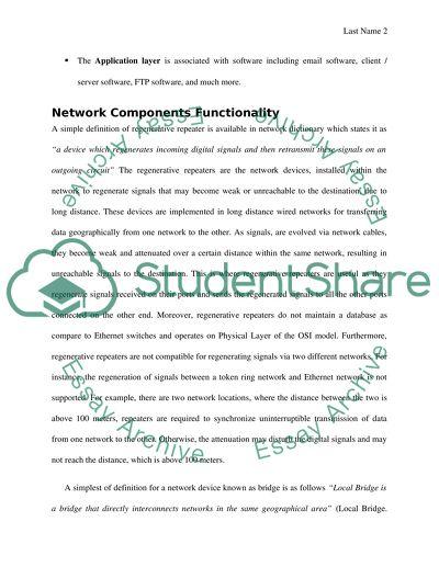computer networking essay topics