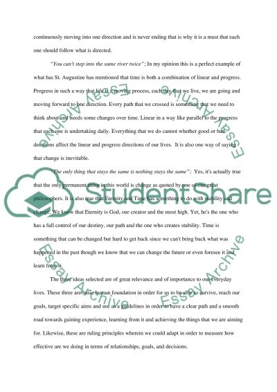 Metaphysics and Theories of Reality essay example